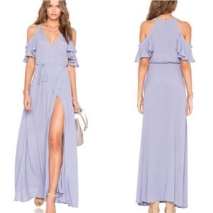 NWT Privacy Please Acme Neptune Maxi Wrap Dress